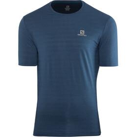 Salomon XA T-shirt Herrer, poseidon